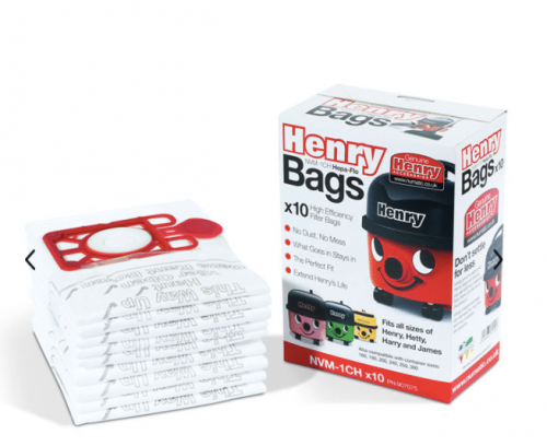 NVM-1CH 3 Layer Hepaflo Filter Dust Bag Pack Of 10 Genuine