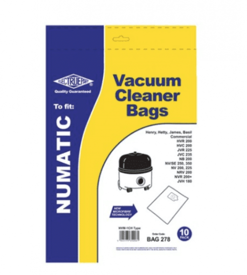 Nvm 1ch Filter Flo Synthetic Dust Bags Pack Of 10 Bag278 2