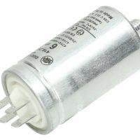 motor run capacitor ducati 6uf tag metal case